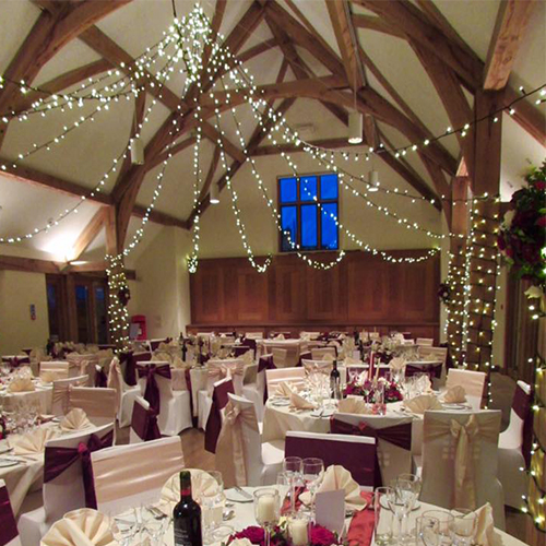 Wedding Fairy Light Hire Oxfordshire