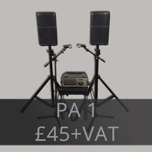 PA Hire and Event Production - Audio Hire